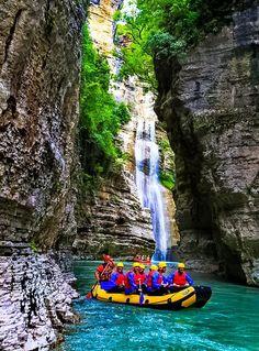 Osum, Albania. #Nature #Canyons