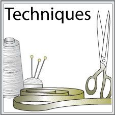 Illustrated step-by-step sewing techniques. Tips and secrets of garment sewing.