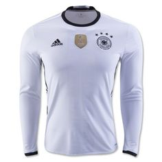 Tyskland 2016 Hjemmebanetrøje Langærmet.  http://www.fodboldsports.com/tyskland-2016-hjemmebanetroje-langermet-1.  #fodboldtrøjer