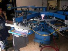 Maquina Automatica para serigrafia