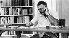 Ernest Hemingway's desk