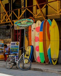 Montanita, Ecuador. Party central, street food, fresh smoothies, and surfing! Stay at Hostel Montezuma.