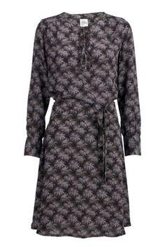 Dress Joan palm print - Lollys Laundry