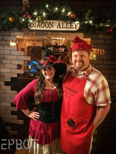 The most amazing Harry Potter Christmas party ever - from Jen & John @ EPBOT