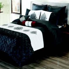 King Candice 8-pc. Comforter Set  Perfect for my Holiday bedding, from Halloween to Christmas  the holiday decorations would go with this set wonderfully  changing looks with each one. #kirklands #pinitpretty