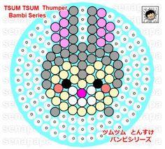 tsum tsum perler thumper