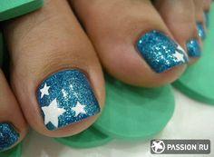 40 Creative Toe Nail Art designs and ideas www. - 40 Creative Toe Nail Art designs and ideas www. Toenail Art Designs, Pedicure Designs, Pedicure Nail Art, Toe Nail Art, Simple Toe Nails, Cute Toe Nails, Pretty Nails, Pretty Toes, Glitter Toe Nails
