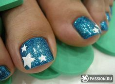 pedicure polish designs - Google Search