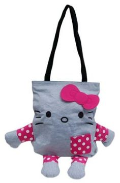 Hello Kitty Jersey Mini Tote Purse Bag -