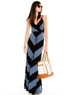 Le Chateau: Jersey Knit Maxi Dress