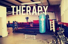 I have to agree....there was some therapy going on while I was punching that bag tonight!!!