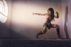 Cosplay de Wonder Woman por Lilia Lemoine