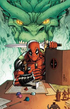 YOU ARE DEADPOOL #1 VARIANT