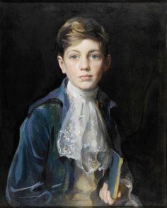 "zeezrom: "" Philip Alexius de László (Hungarian born British painter) 1869 - 1937 Portrait of Raymond P. Johnson-Ferguson, 1923 """