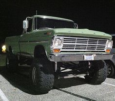 """My vehicle a 77 Ford three on the tree. Gave my son """" Gertrude """" my 1969 Ford 4 speed w/ original miles. ( so regret that decision:( Classic Ford Trucks, Ford Pickup Trucks, 4x4 Trucks, Lifted Trucks, Cool Trucks, Chevy Trucks, Ford 4x4, Lifted Chevy, Diesel Trucks"""