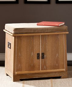 Look at this Weathered Oak Collection Chest & Tray Organizer on #zulily today!