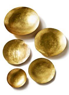 Gold Serving Bowl
