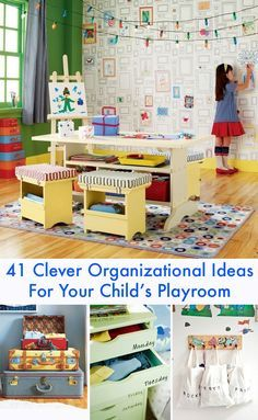 41 Clever Organizational Ideas For Your Child's Playroom | BuzzFeed