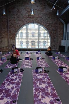 Yoga Wheel event in Stockholm