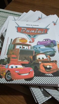 Livro de Colorir | Carros Disney