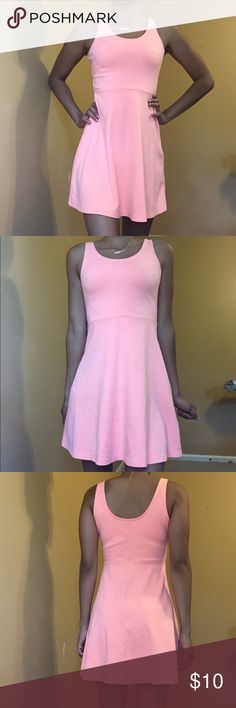 Neon peach dress Bright peach dress Old Navy Dresses Mini