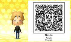 Naruto Tomodachi Life Qr Code Tomodachi Life Qr