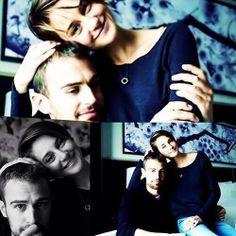 Shailene Woodley and Theo james