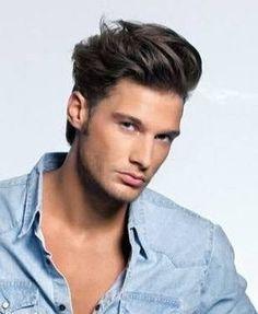 Pin De Angel Luna En Peinados Para Hombre Con Cabello Semi Largo Peinados Para Hombre Cabello Peinados