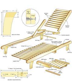 Doe het zelf bouwtekening voor een houten tuinbank zonder rugleuning. Gratis bouwtekeningen voor steigerhout bedden. Zelf een ligbed maken voor in de tuin.