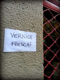 Carmen Veca Monili: Vernice fresca ♥
