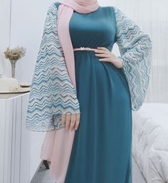 Muslim Women Fashion, Arab Fashion, Islamic Fashion, Moda Hijab, Moslem Fashion, Hijab Dress Party, Mode Abaya, Muslim Dress, Latest African Fashion Dresses