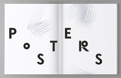 CA Collection Design Annual — Typography and Editorial by SAWDUST, via Behance