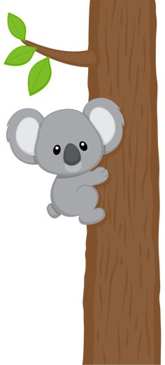 "Photo from album ""koalas"" on Yandex. Cartoon Drawings, Animal Drawings, Cute Drawings, Jungle Animals, Baby Animals, Cute Animals, Cute Images, Cute Pictures, Koala Illustration"