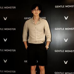GENTLE MONSTER Opening ceremony with Korea actor Ji Ho, Shim (심지호)