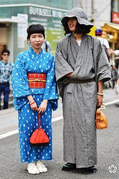 Name: Masayoshi ( Man)  Kimono: Handmade Himself  Hat: Handmade Himself  Bag: Eatable of Many Orders  Shoes: Motbell  Socks: Youji Yamamoto ...