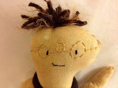 Jiven Joe cloth doll by janeylaughs on Etsy, $48.00