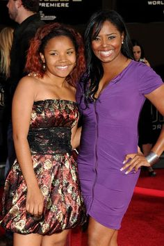 Shar Jackson & daughter Cassie attend the premiere of Iron Man,