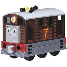 New Take Along Toby Retired Thomas The Tank Engine Train Friends | eBay