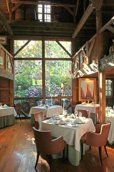 The White Barn Inn Restaurant.  What a wonderful Inn----we spent four very special days there.