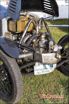 Vintage Revival Montlhery 2015, Moteur Tatra Type 11