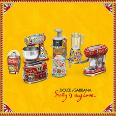 Sicily is my love: the new small domestic appliances collection fruits of Smeg and Dolce & Gabbana