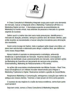 Release da Chess Consultoria & Marketing Integrado