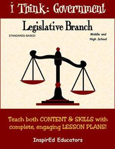 27 best legislative branch images on pinterest teaching social