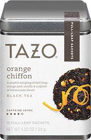 Tazo® Tea | Products. Looks like Earl Grey plus orange and cream flavors.