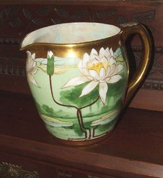 Antique Pickard Milk Pitcher Keates by AnotherTimeAntiques on Etsy, $950.00