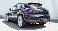 Hamann Shows Five Alloy Wheels for New Porsche Macan