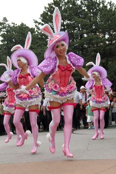 イースターワンダーランド2011 Tokyo Disney Resort, Tokyo Disneyland, Inspire Dance, Theme Park Outfits, Festival Of Fantasy Parade, Pretty Costume, Clueless Fashion, Costumes Couture, Tokyo Disneysea