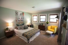 Katie Lime's Indianapolis, IN Home Tour  #theeverygirl