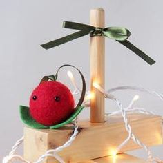 Christmas Cranberry Tree Decoration Cranberry Tree, Secret Santa, Little Gifts, Tree Decorations, Stocking Stuffers, Goodies, Gift Wrapping, Christmas, Handmade