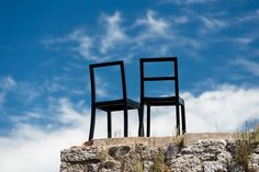 """Baltic chairs by George Sowden at #LaRoccaDiStaggia for """"On Air: sedute in scena"""", an art event by Donatella Bagnoli  #Segis #SegisDesign #GeorgeSowden #Sowden #openair #outdoor #chairdesign #furnituredesign #event #igerssiena #igerstoscana #tuscany #toscana #skyporn #vsconature #instanature"""